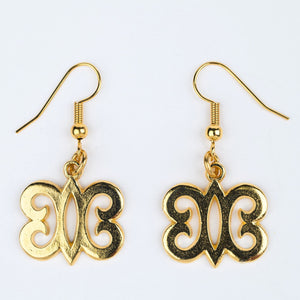 ME™ Hye Won Hye Goldtone Earrings Accessories Show Your Africa