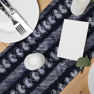 ME™ Batik Table Runner Table Linen Show Your Africa Egba Batik Stripes