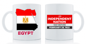 Independent Nation Mug Drinkware Show Your Africa Egypt