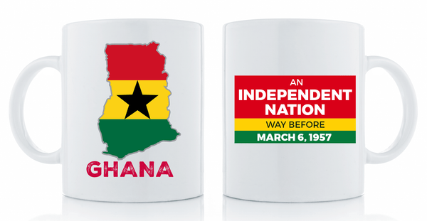 Independent Nation Mug Drinkware Show Your Africa Ghana