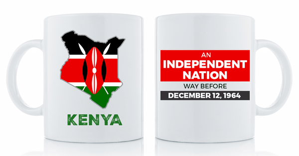 Independent Nation Mug Drinkware Show Your Africa Kenya