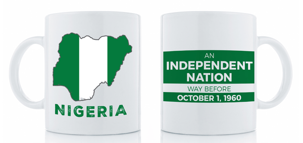 Independent Nation Mug Drinkware Show Your Africa Nigeria