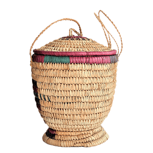 "ME™ Khadija Catch-All Basket Storage & Organization Show Your Africa 7.5""W x 8""L"