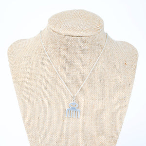 ME™ Duafe Silvertone Necklace