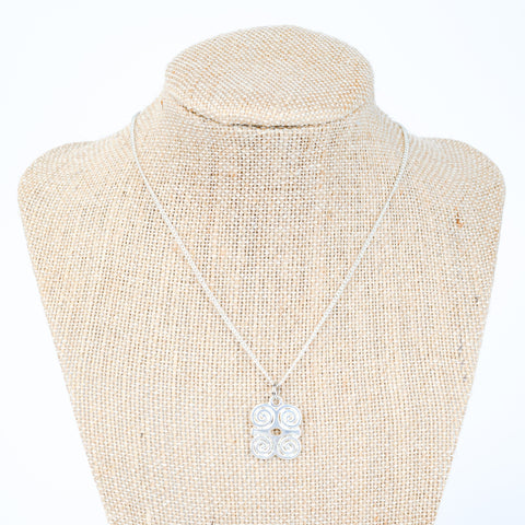 ME™ Dwennimmen Silvertone Necklace