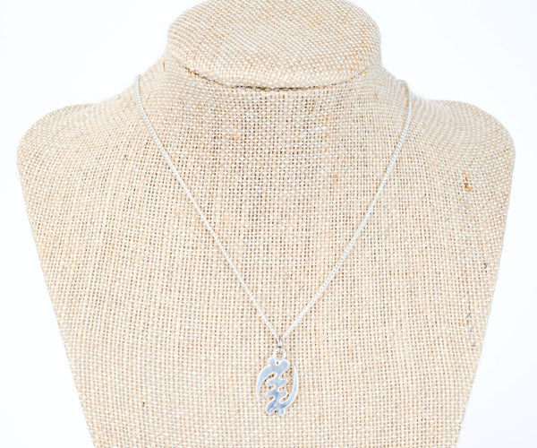ME™ Gye Nyame Silvertone Necklace Women's Necklaces Show Your Africa