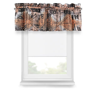 ME™ Batik Valance Window Treatment Show Your Africa Afro-Victorian