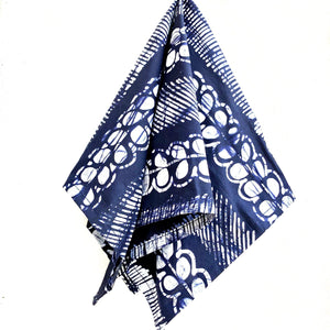 Stripes Batik Bandana Face Mask