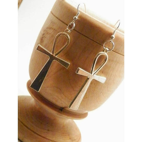 Holey Moley™ Ankh Dangle Earrings Unisex Bracelets Show Your Africa