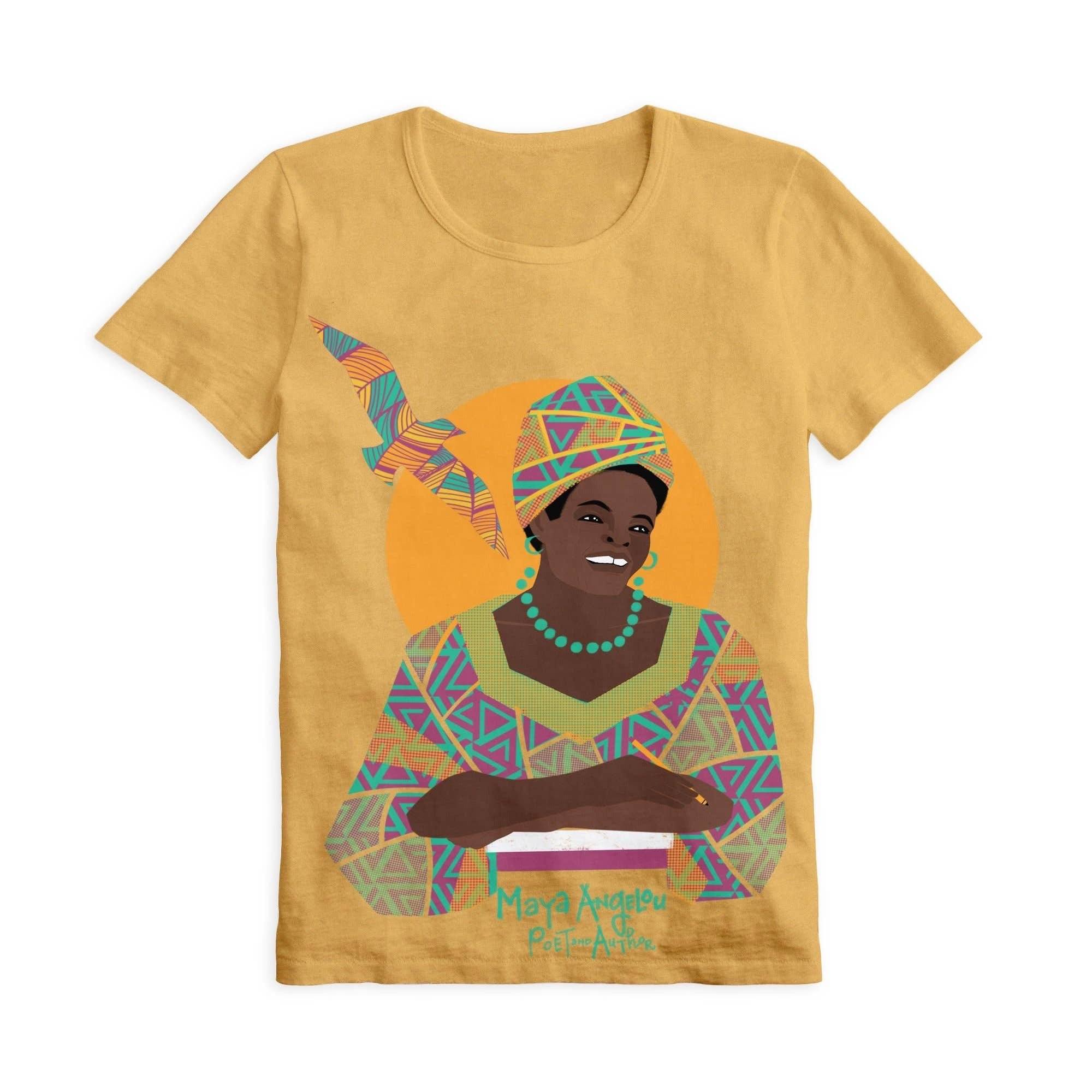 Piccolina Adult Maya Angelou Short Sleeve Trailblazer Tee Show Your Africa