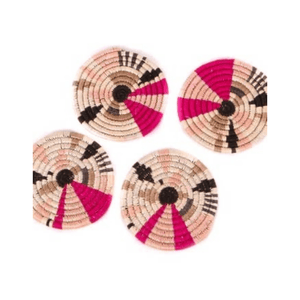 Akija™ Festival Burst Biko Coasters Table Linen KAZI