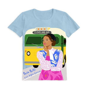 Piccolina Adult Rosa Parks Short Sleeve Trailblazer Tee Show Your Africa