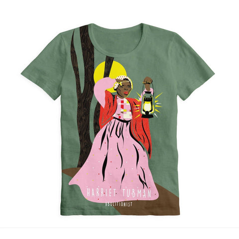 Piccolina Adult Harriet Tubman Short Sleeve Trailblazer Tee Show Your Africa