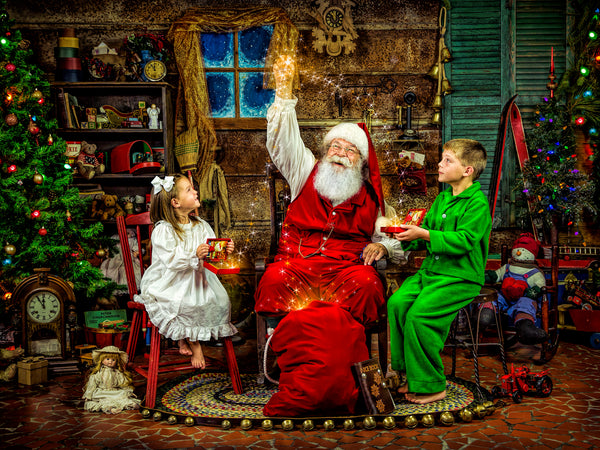 Santa's Magical Summitt Virtual Workshop: The Entire Workshop PLUS 2 Sessions: Live Streaming-Art of Magic and Light Inc.