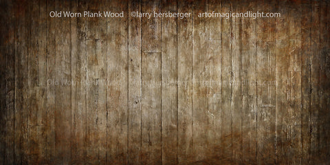 Old Worn Plank Wood-Art of Magic and Light Inc.