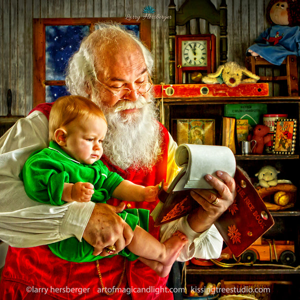 How to Train Your Santa-Art of Magic and Light Inc.