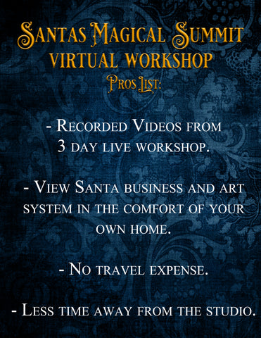 Santa's Magical Summit Virtual Workshop: The Entire Workshop PLUS 2 Sessions: Live Streaming