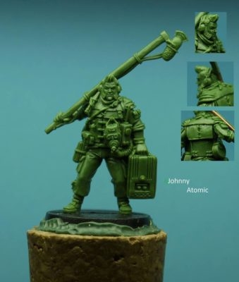 Johnny Atomic unpainted