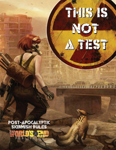This is Not a Test Official Hardback Rulebook