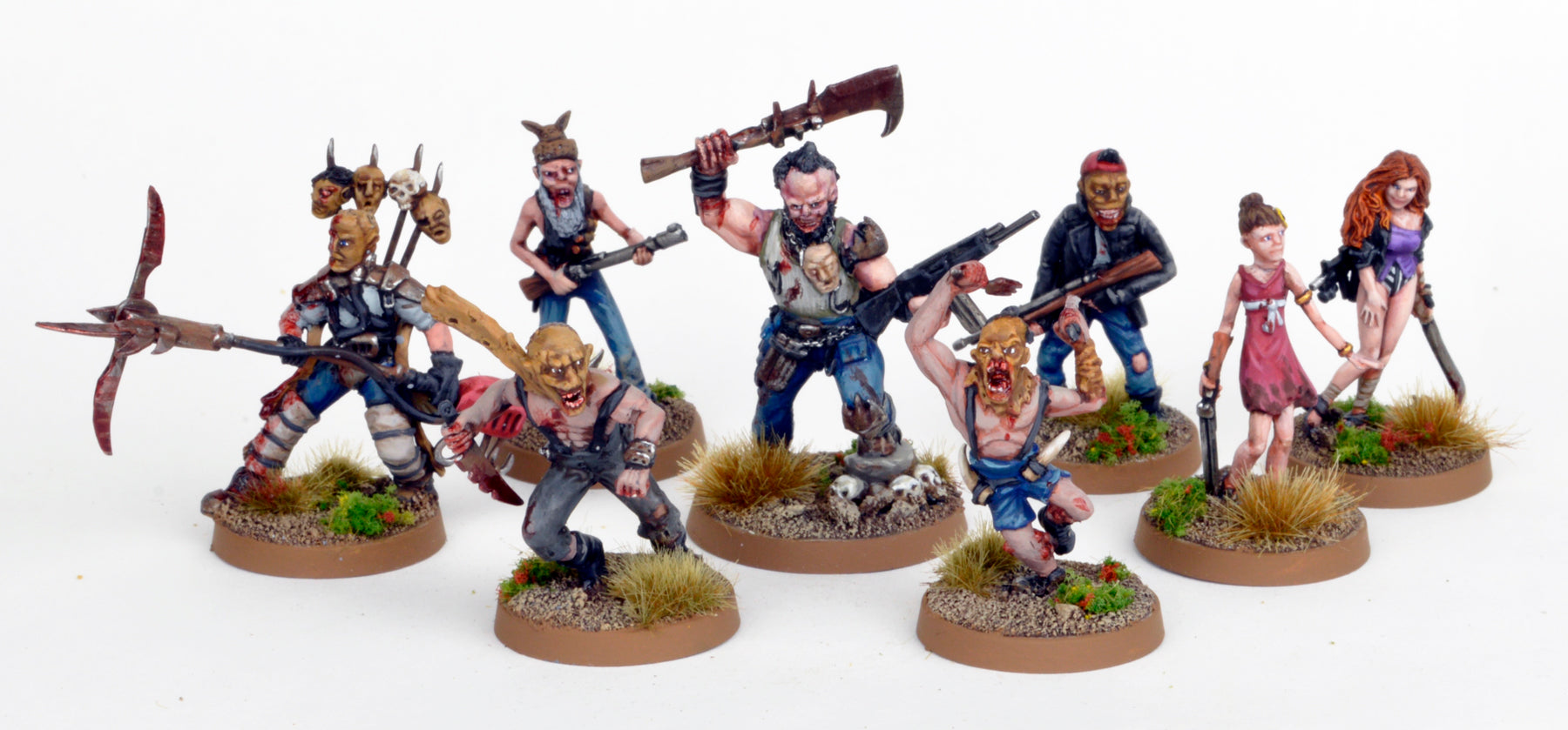 Mutant Cannibal Warband