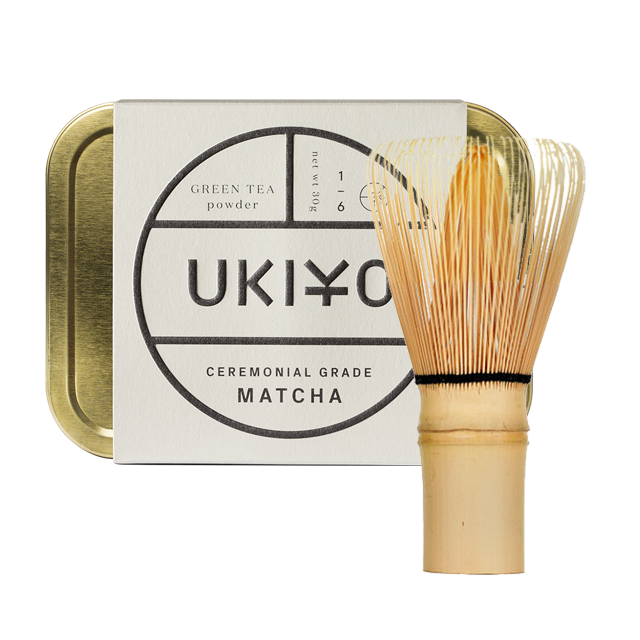 ukiyo matcha and whisk