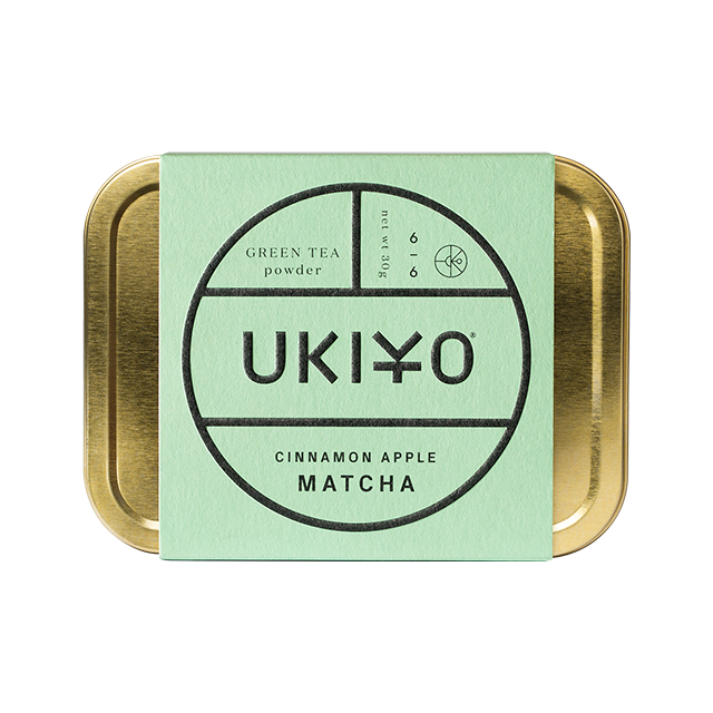 UKIYO cinnamon apple matcha green tea