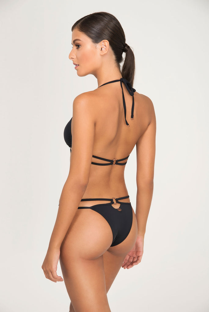 CLUBTIP TOP FIXED TRIANGLE | BOTTOM FIXED THIN - LE BAIN RESORTWEAR