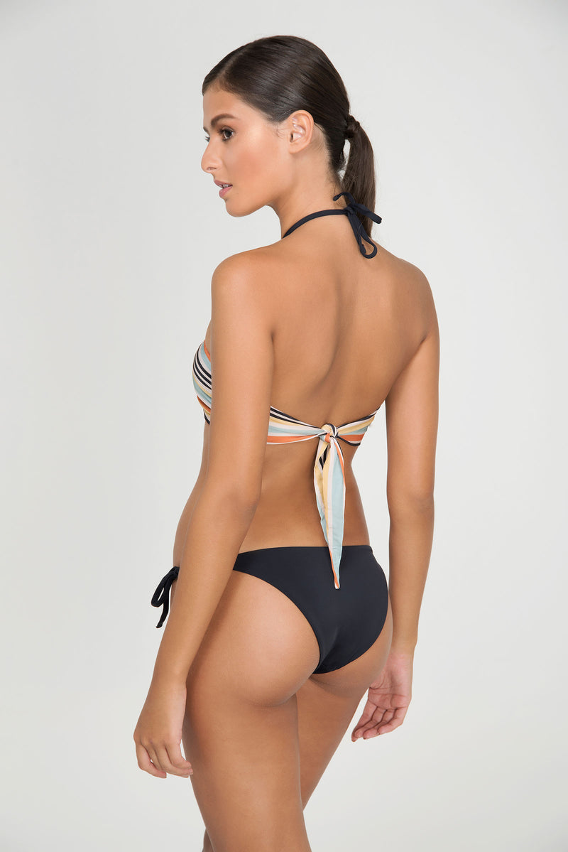 CLUBTIP BANDEAU | BOTTOM DOUBLE SOLID TIE SIDE - LE BAIN RESORTWEAR