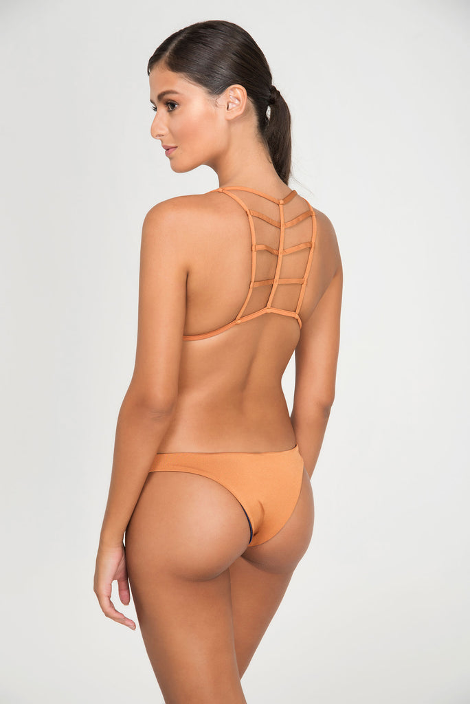 BLADEFIRE TOP DOUBLE FIXED TRIANGLE | BOTTOM  DOUBLE THIN - LE BAIN RESORTWEAR