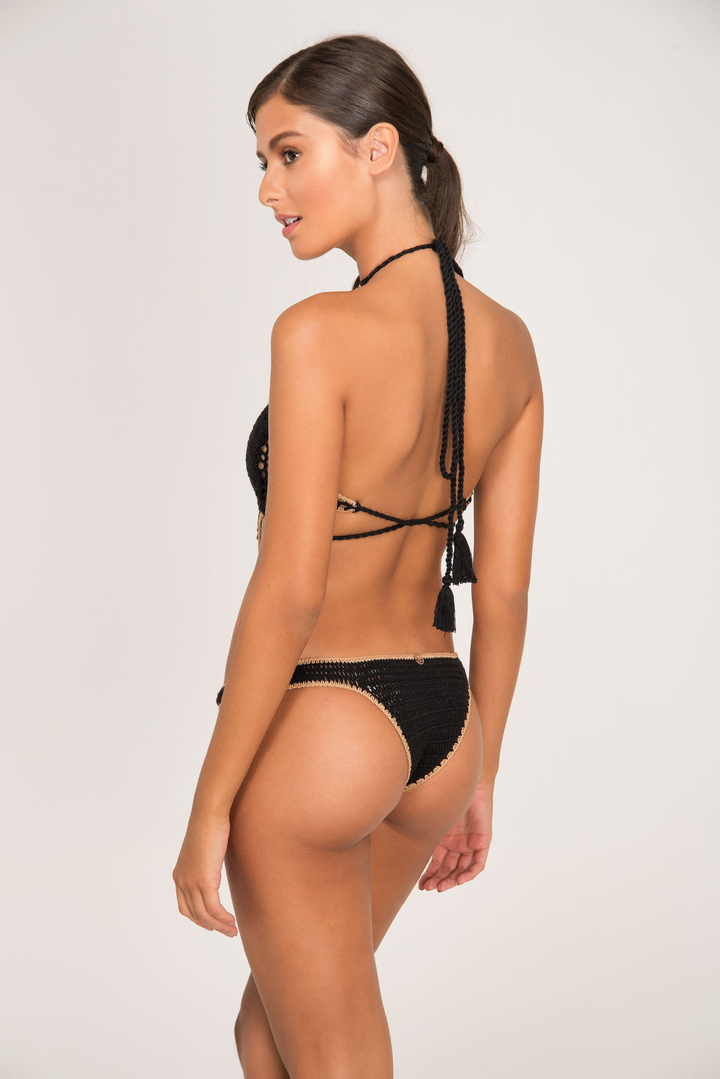 STONY CROCHET DOUBLE ONE PIECE - LE BAIN RESORTWEAR