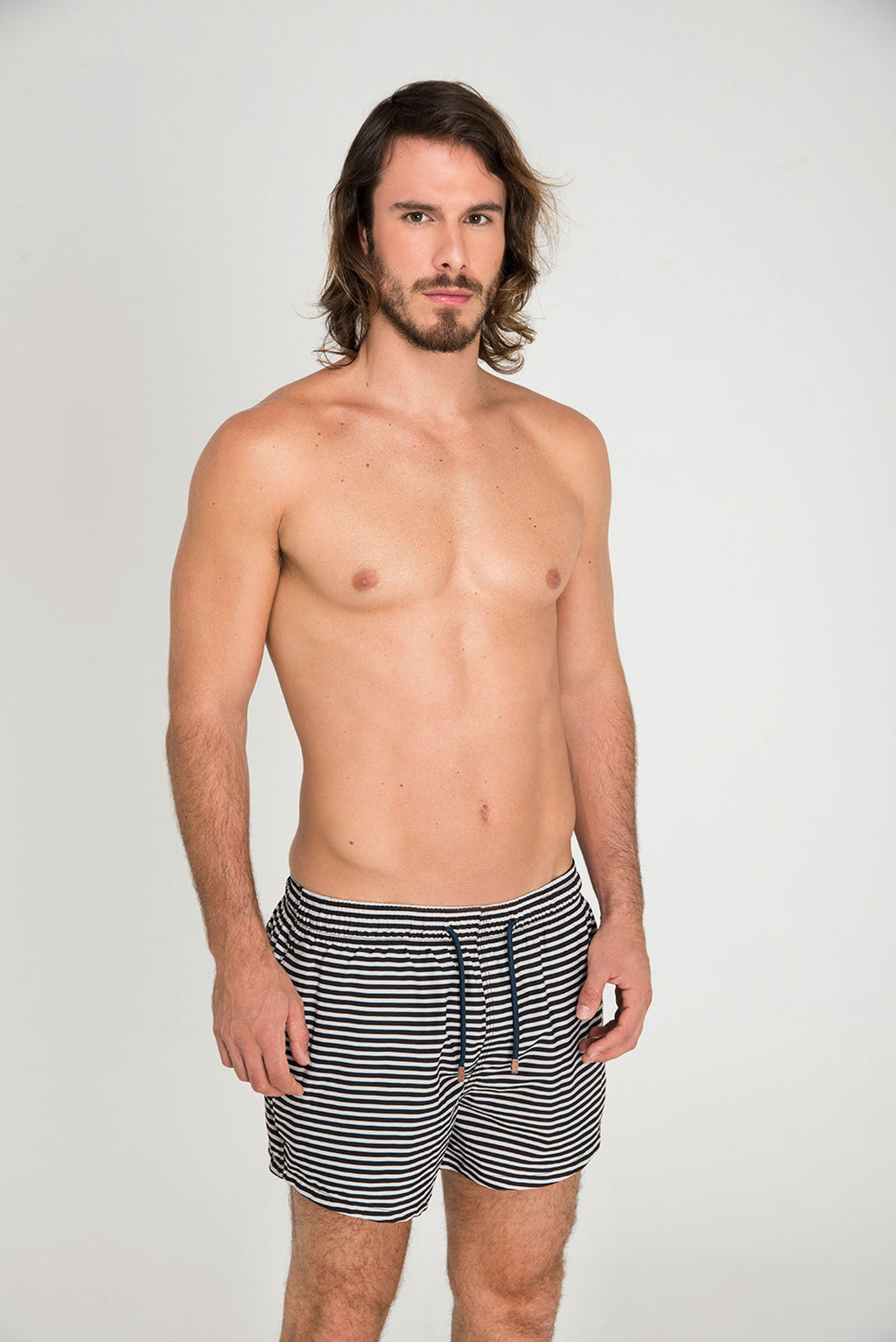 STRIPED SHORTCUT - LE BAIN RESORTWEAR