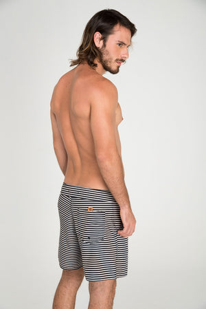 STRIPED BOARDSHORT - LE BAIN RESORTWEAR