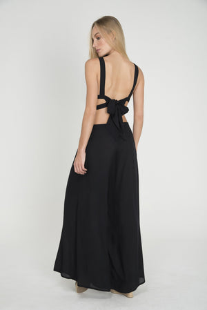 SEA PLUMES BELLY JUMPSUIT - LE BAIN RESORTWEAR