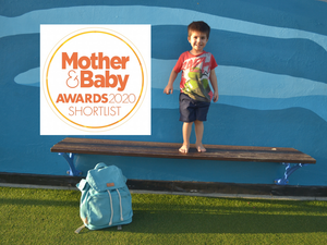 Mama Qucha shortlisted Best Changing Bag in the UK Mother&Baby Awards!