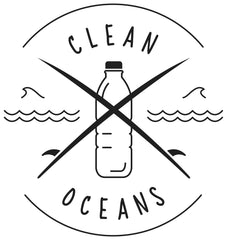 Clean Oceans logo - Mama Qucha has partnered with Clean Oceans to help stop plastics from entering our oceans and waterways, with a goal of banning all single use plastics from Australian beaches by 2020!