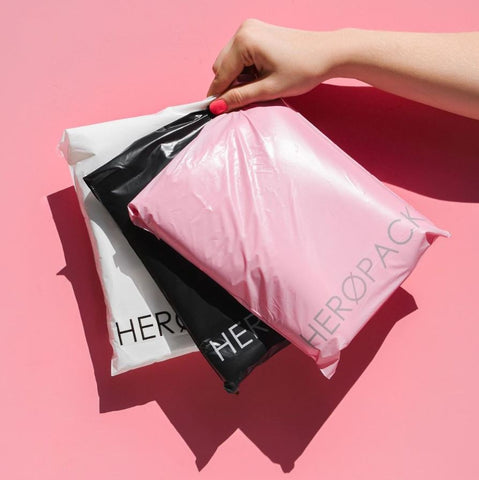 Heropacks a home compostable mailer bag
