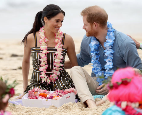 The Duke and Duchess visit Bondi Beach Australia. Image source: Getty / Aaron Chown