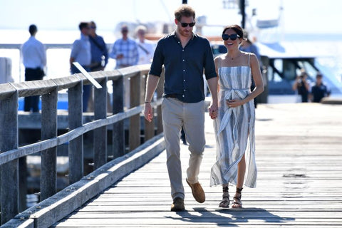 The Duke and Duchess of Sussex visit Fraser Island in Australia. Source: Getty Images / Darren England