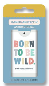Toodle Doo Hand Sanitiser – Born To Be Wild 15ml *70% Alcohol*