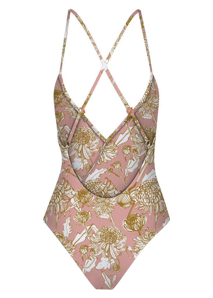 BELLA FRILL ONE PIECE - DALIA FIELDS BLUSH