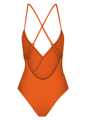 BELLA FRILL ONE PIECE - MARMALADE