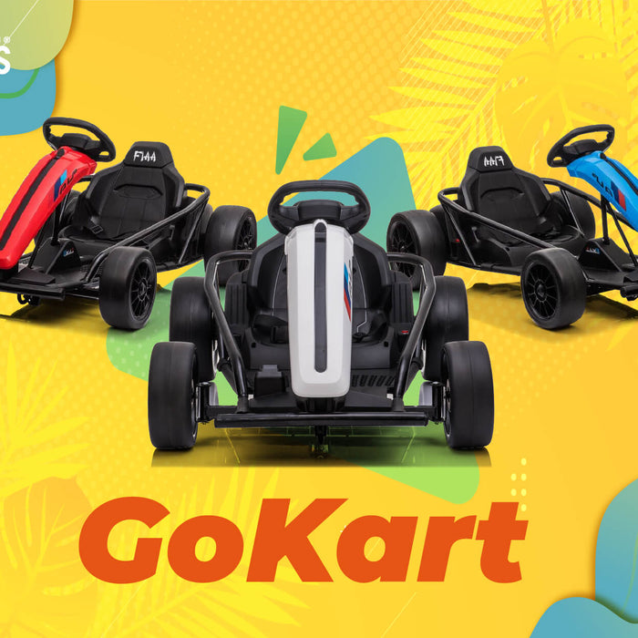 Off-road GoKart Racer Drifter - The best outdoor off-road karting for kids