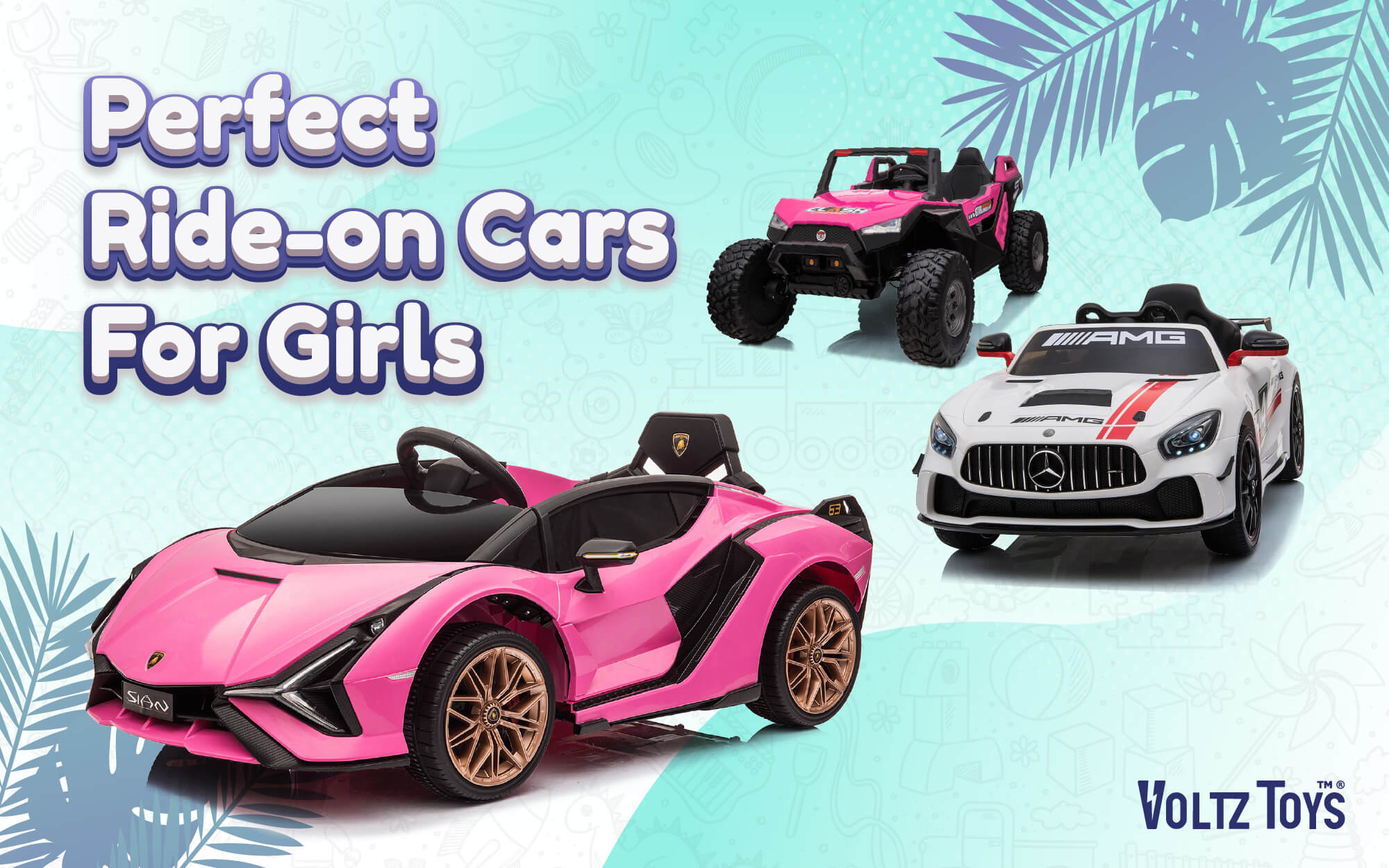 Perfect Ride-On Cars for Girls, Voltz Toys