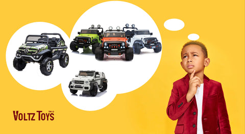 How to Choose a Kid-Friendly Ride On Car Online?