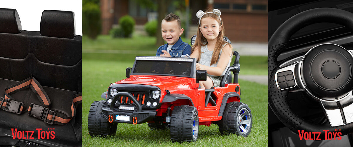 Voltz Toys - Canada Car toys for kids, Jeep Truck Ride-On-Car