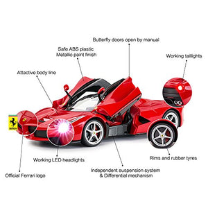Rastar 1:14 R/C FERRARI LaFerrari (Butterfly Doors Open Manually)