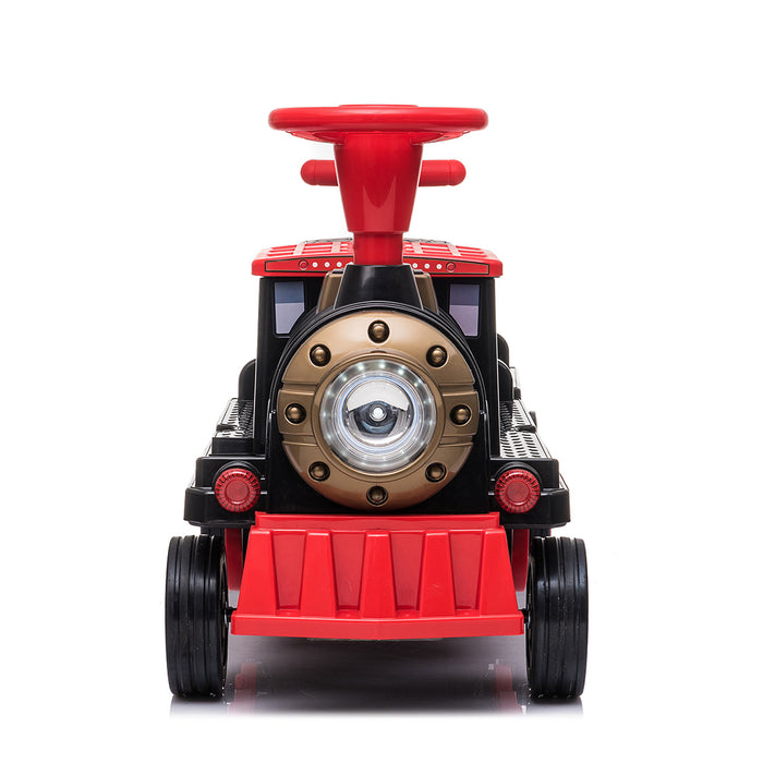 Locomotive with Carriage 12V Electric Motorized Ride-On Train for Kids and Parents - Voltz Toys