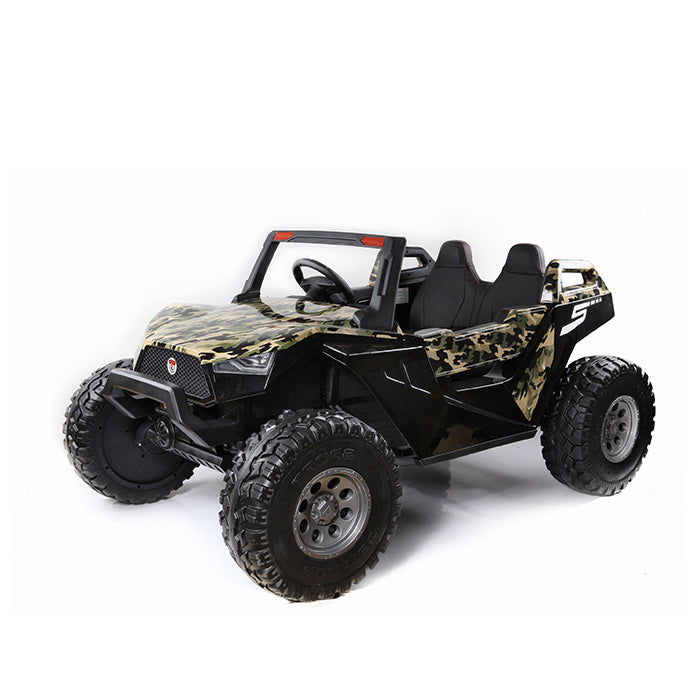 2 Seater 24V Off-Road UTV Electric Motorized Ride-on Truck with Parental Remote Control - Voltz Toys