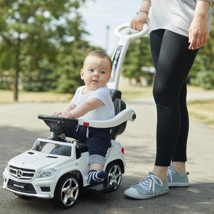 Mercedes-Benz AMG GL63 4-in-1 Baby Walker with Push Bar - Voltz Toys