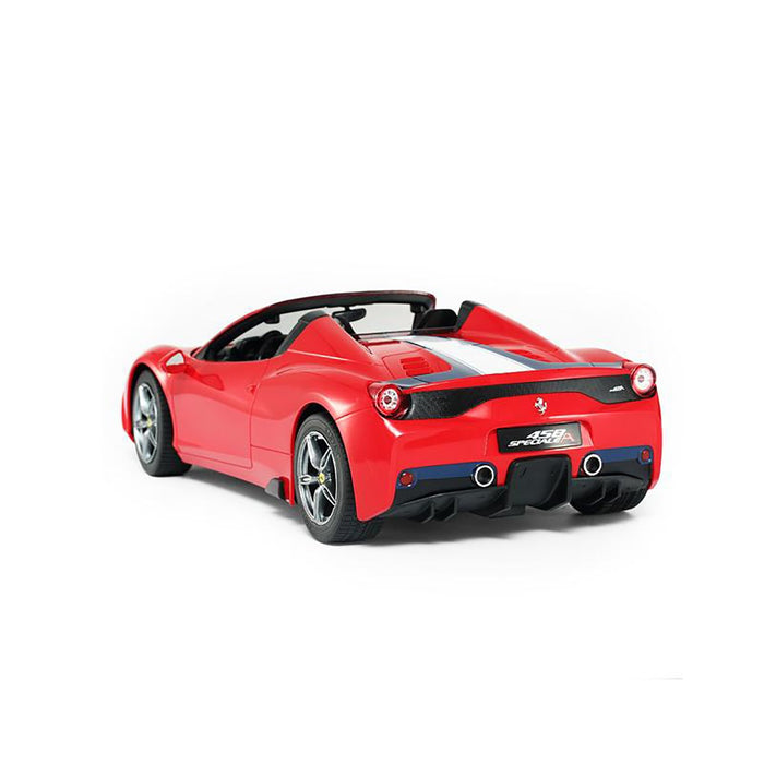Rastar 1:14 R/C FERRARI 458 Speciale A (Convertible Version, Horn, Front/Rear Lights) Remote Control Car for Kids